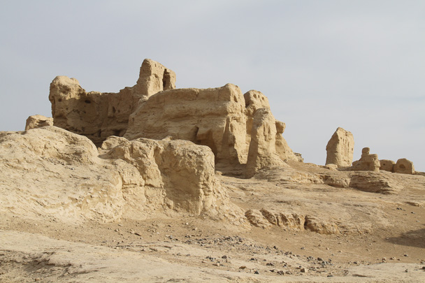 Ruins of Jiaohe Ancient City - Journey from the West, 2014/10