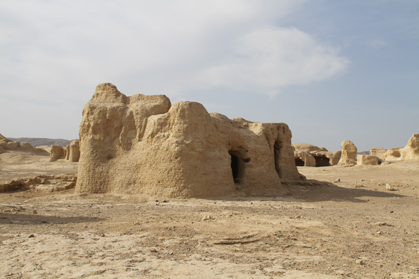 Jiaohe Ancient City ruins - Journey from the West, 2014/10