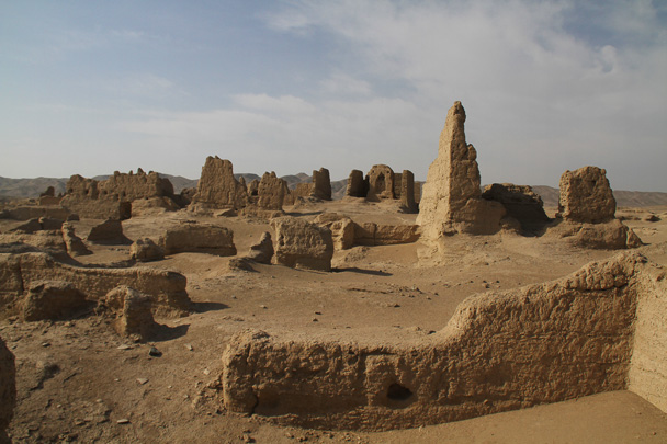 A wider view of a different section of the ruined city - Journey from the West, 2014/10