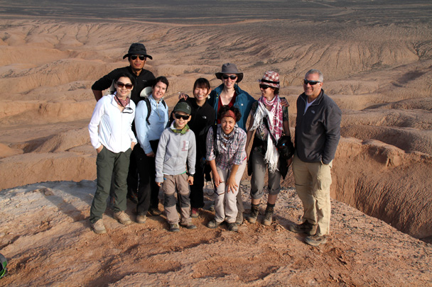 Hiking team photo - Journey from the West, 2014/10