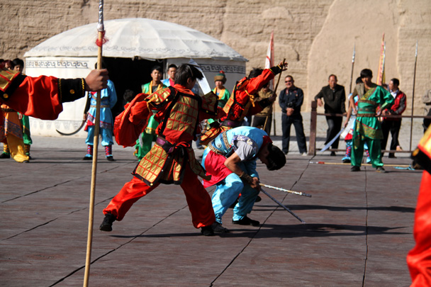 A performance at the fortress - Journey from the West, 2014/10