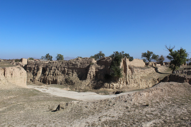 The ruins of a fort near a small village - Yu County overnighter for Audi China, 2014/10