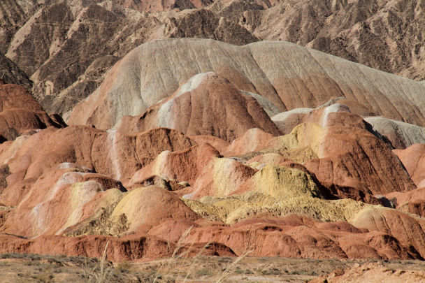 Colours of the Zhangye Danxia Landform - Zhangye Danxia Landform, Gansu Province, 2014/10