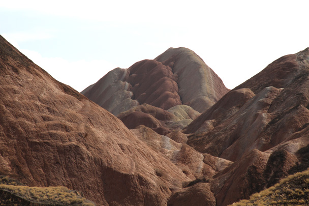 A peak in the landform - Zhangye Danxia Landform, Gansu Province, 2014/10