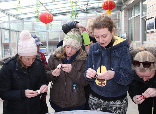 Just like that! - Great Wall Christmas 2014 - Gubeikou Great Wall to Jinshanling Great Wall