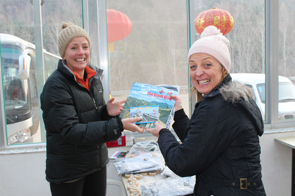Joined by the winner for 'Most Dumplings'! - Great Wall Christmas 2014 - Gubeikou Great Wall to Jinshanling Great Wall