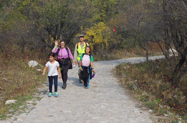 The youngest participants - Hike Fest 2015