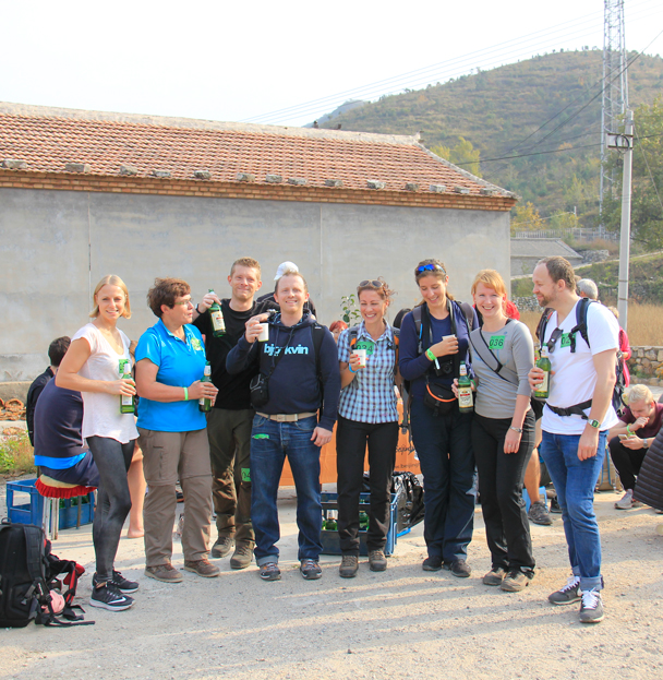 The BMW team celebrating - Hike Fest 2015