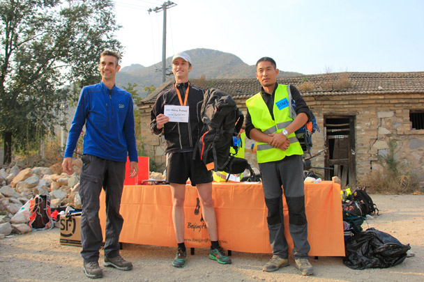 First place in the Mens 24km Challenge - Hike Fest 2015