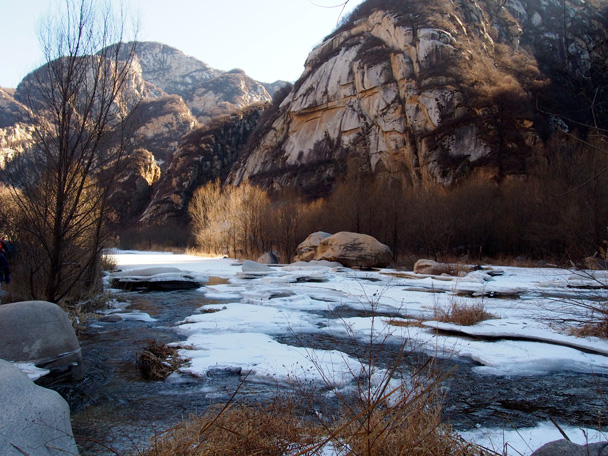 Some more magnificent scenery - White River ice hike, 2015/01/27