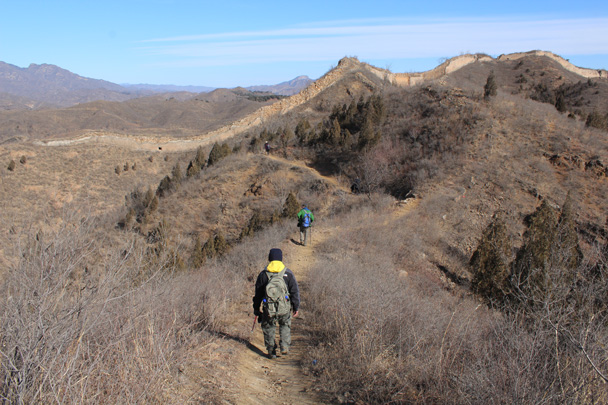 5B Almost back to the Great Wall - Gubeikou Great Wall hike, 2015/02/08