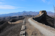 Gubeikou Great Wall hike, 2015/02/08