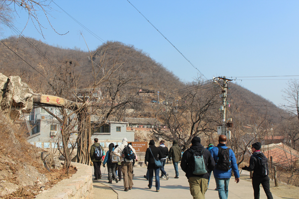 On our way to the Great Wall we passed through a small village - Longquanyu Great Wall and the Little West Lake, 2015/04