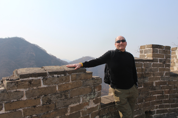 Jon is taking a break - Longquanyu Great Wall and the Little West Lake, 2015/04