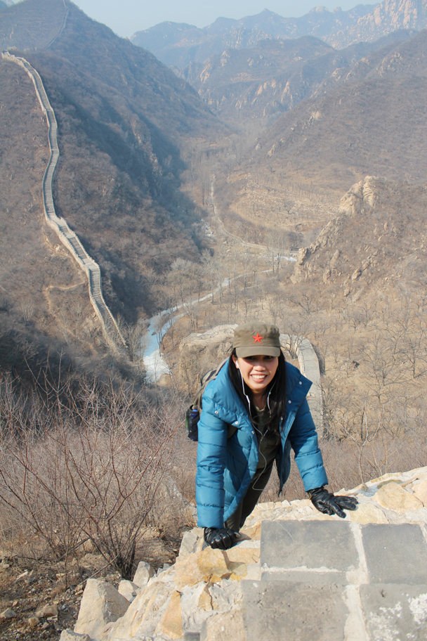 Made it! - Longquanyu Great Wall and the Little West Lake, 2015/04