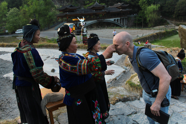 Everyone has to drink up - Miao and Dong culture in Guizhou, 2015/04