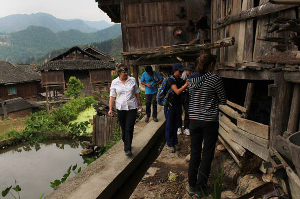 Looking about a village of the Zhuang ethnic group - Miao and Dong culture in Guizhou, 2015/04