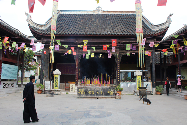 Wanshou Palace, a Taoism temple that dates back to 1798 - Miao and Dong culture in Guizhou, 2015/04