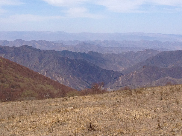 If Beijing gets the Winter Olympics, this view will be transformed - it's where they plan the downhill skiing tracks - Dahaituo Mountain hike, 2015/04/25