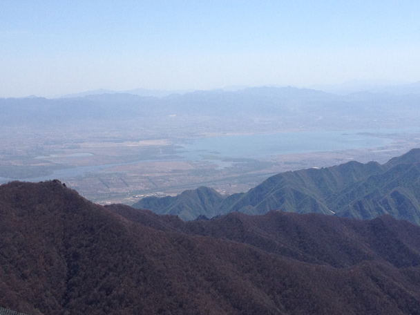 Another shot of the Guanting Reservoir - Dahaituo Mountain hike, 2015/04/25