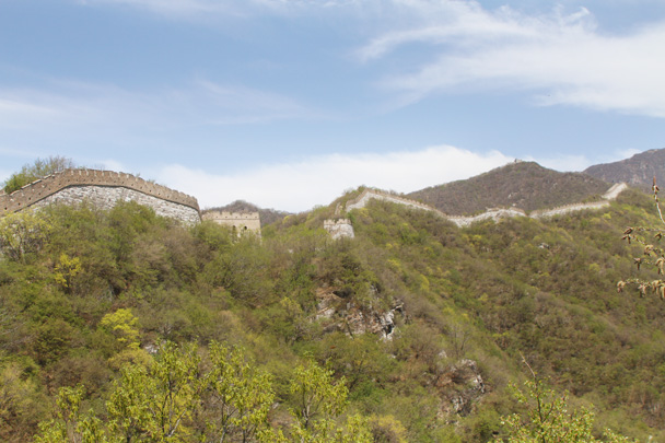 The Great Wall at Jiankou - Earth Day Clean Up Hike at Jiankou, 2015/4/25