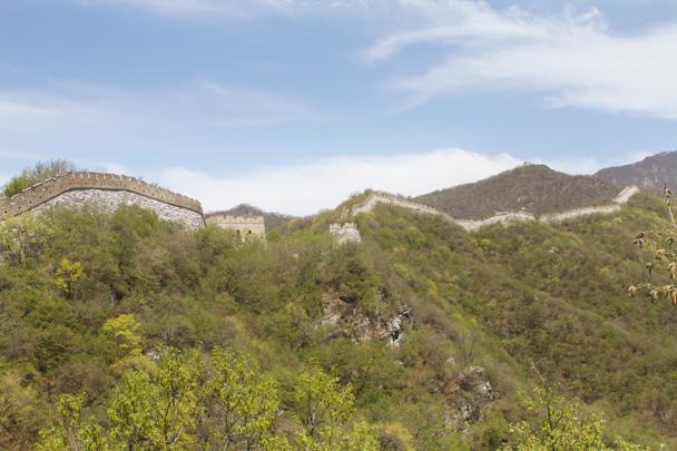 The Great Wall at Jiankou - Earth Day Clean Up Hike at Jiankou, 2015/4/25