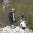 Earth Day Clean Up Hike at Jiankou, 2015/4/25