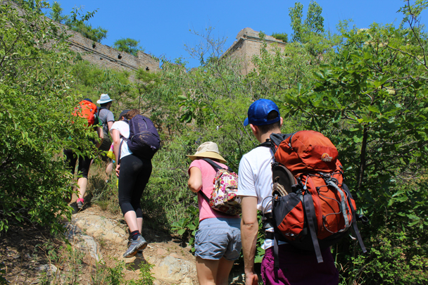 Almost at the wall - Great Wall Spur Camping, 2015/05