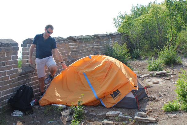 Just some finishing touches needed - Great Wall Spur Camping, 2015/05