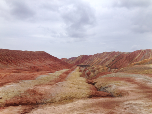 Lines of colours - Zhangye Danxia Landform and Jiayuguan Fortress, 2015/05