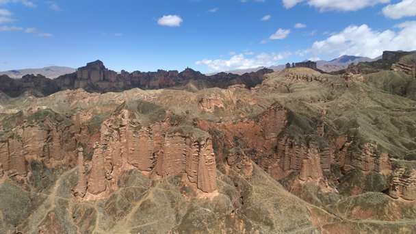 Strange rock formations - Zhangye Danxia Landform and Jiayuguan Fortress, 2015/05