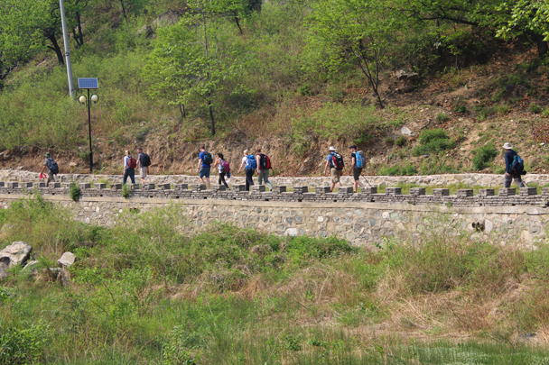 Getting closer to the trail up to the Great Wall - Great Wall Spur Camping trip, May 2015
