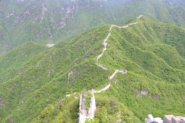 Looking at the route before us was pretty inspiring - Great Wall Spur Camping trip, May 2015