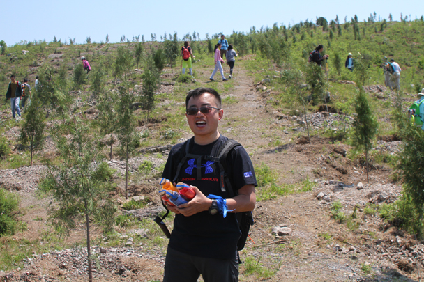 A very successful treasure hunter - Hike and teambuilding for ThyssenKrupp, 2015/05