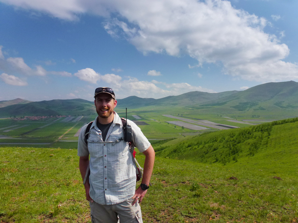 Hiking guide Simon - Bashang Grasslands, Hebei Province, 2015/06