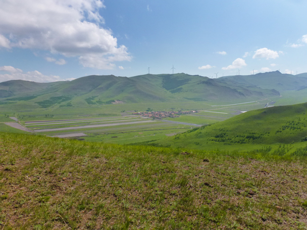 Another small village - Bashang Grasslands, Hebei Province, 2015/06