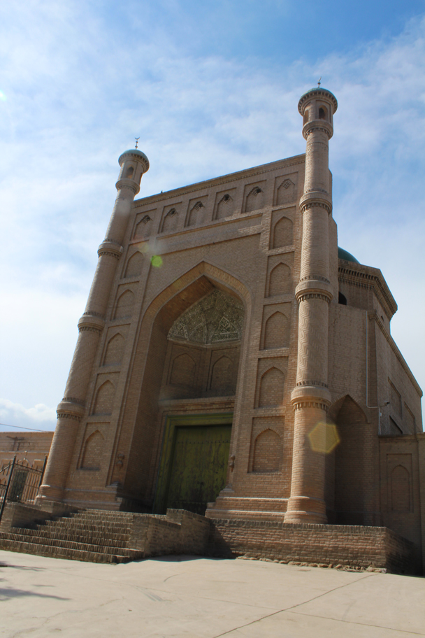 Kuqa's Grand Mosque is the second-biggest mosque in Xinjiang Province - Along the Silk Road from Korla to Kashgar, 2015/06