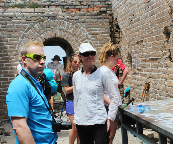 In the General's tower, the highest point on this hike - Middle Switchback Great Wall, 2015/06/07