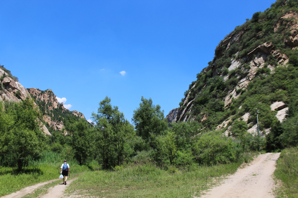 Taking the path less travelled - White River hike, 2015/07/05