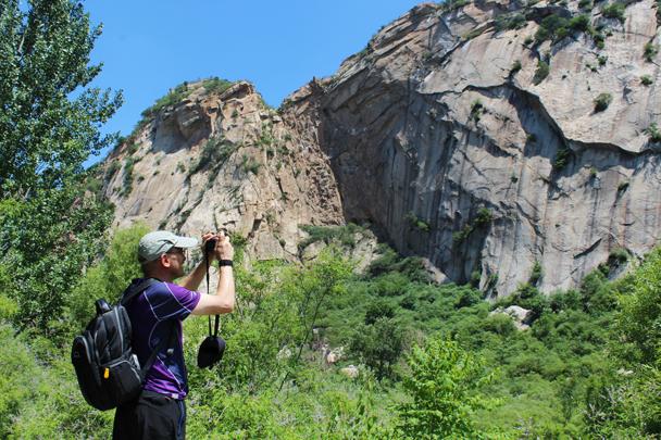 Good spot for a few photos - White River hike, 2015/07/05