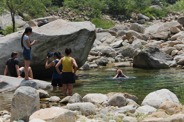 Perfect for a swim - Yunmeng Gorge hike and swim, 2015/07/12