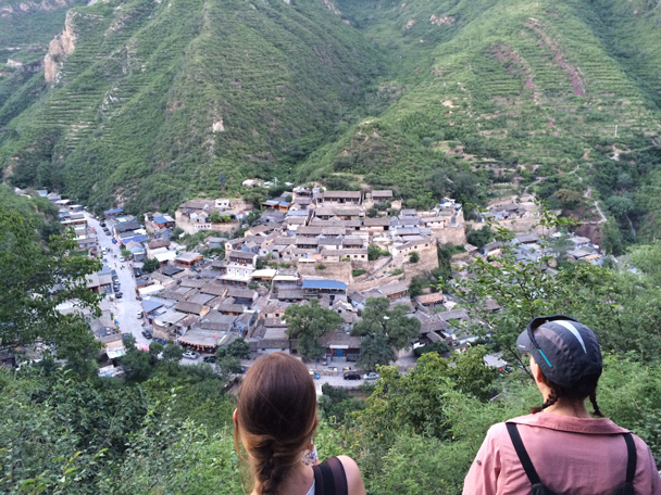 The little village Cuandixia has the same shape as a dumpling - Ming Village overnight, 2015/08