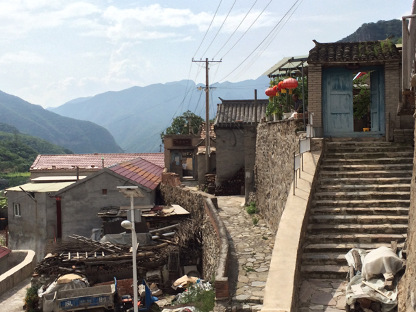Views in the village - Ming Village overnight, 2015/08