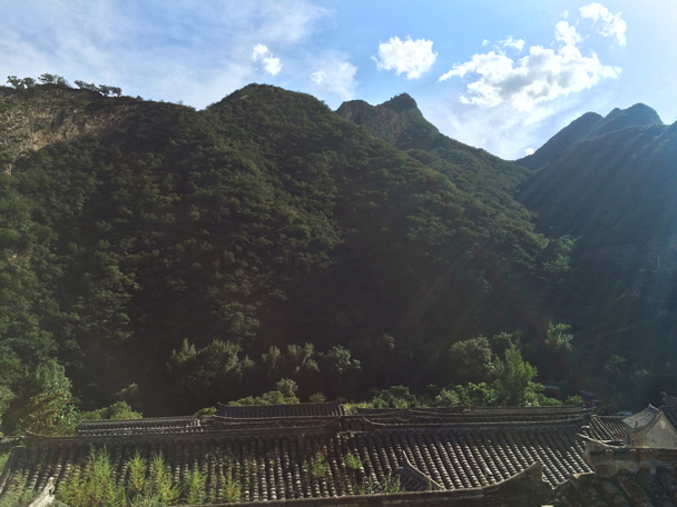 We had beautiful weather on the first day of the weekend - Ming Village overnight, 2015/08