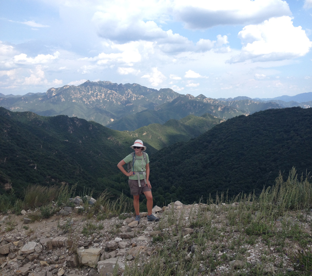 Up on the Great Wall in the middle of the mountains - Shuitou Village Loop hike, 2015/08/22