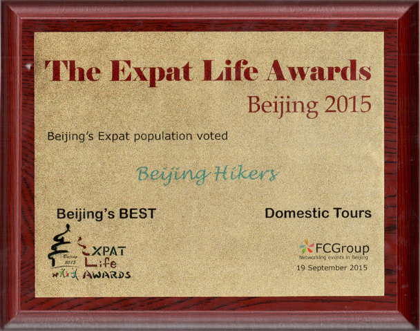 Winner 'Best Domestic Tours' in the Expat Life Awards 2015