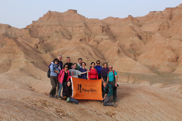 Team photo! - Along the Silk Road from Korla to Kashgar, 2015/09