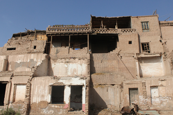 The old city in Kashgar - Along the Silk Road from Korla to Kashgar, 2015/09