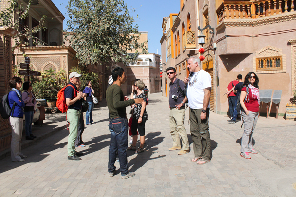 We took a stroll about Kashgar - Along the Silk Road from Korla to Kashgar, 2015/09
