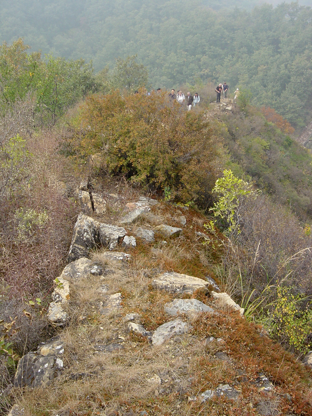 A rocky line of old Great Wall - Prove Your Loyalty hike highlighted photos